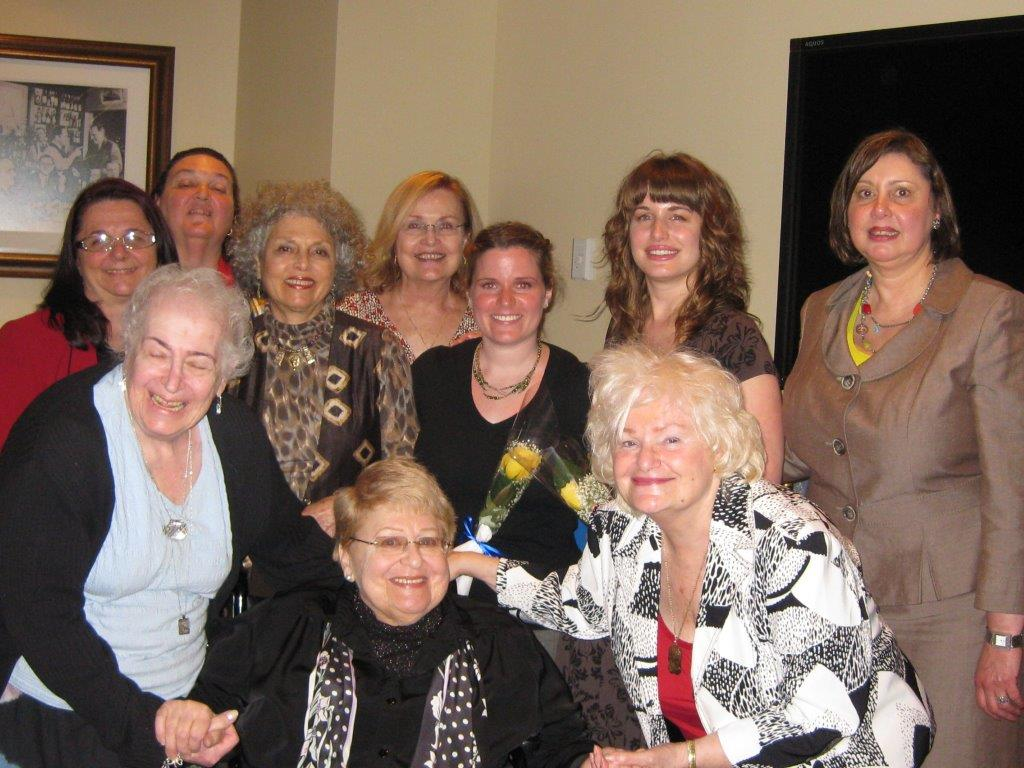 Community Service Awards     June 10, 2009      Past Presidents and new members.