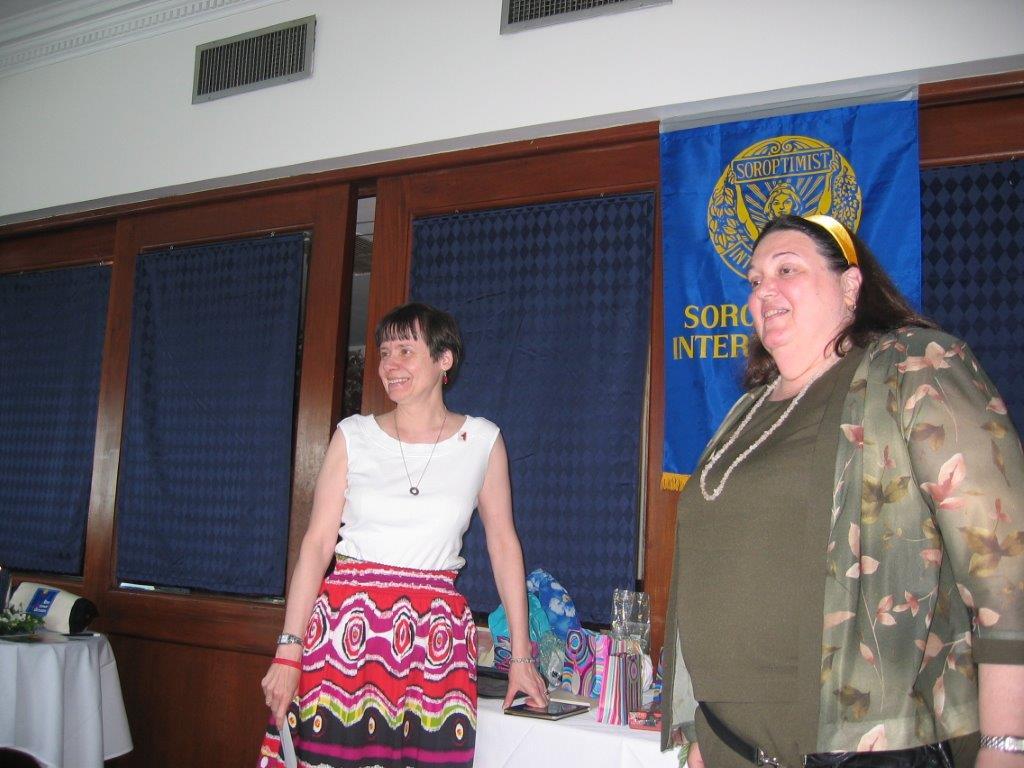 Community Service Awards   June 9, 2007 Eileen Jackson, Sandy Gabin.jpg