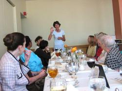 Luncheon at UN August 2005.jpg