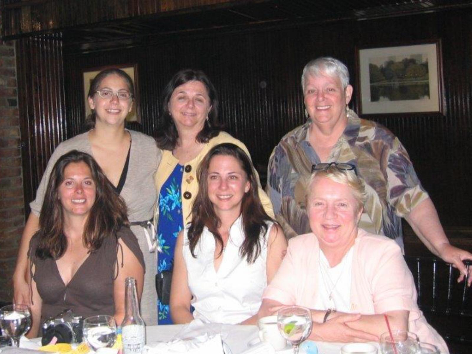 SIM 10th Anniversary June 2008 Joanne Stevenson, Charlynn Willis and family.jpg