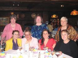 SIM 10th Anniversary June 2008 XX, Leila Bose, Margaret Hart, Mildred Josefson,