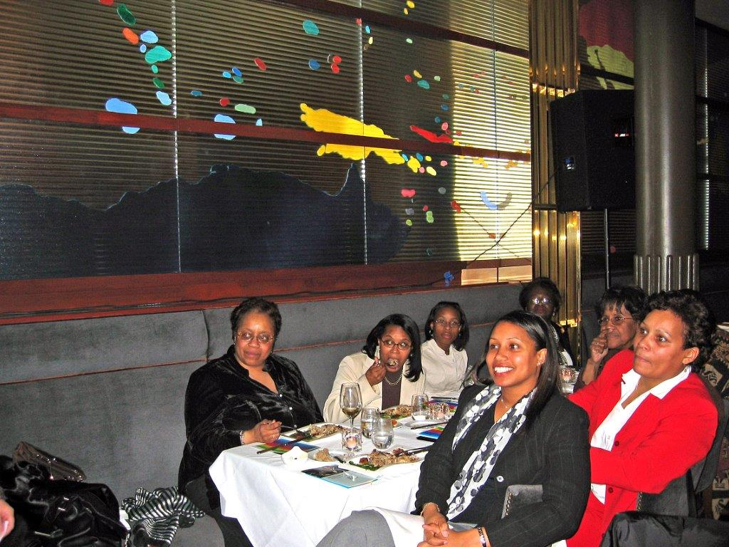 Women's Recognition Dinner at Colors March 13, 2006   Guests.jpg