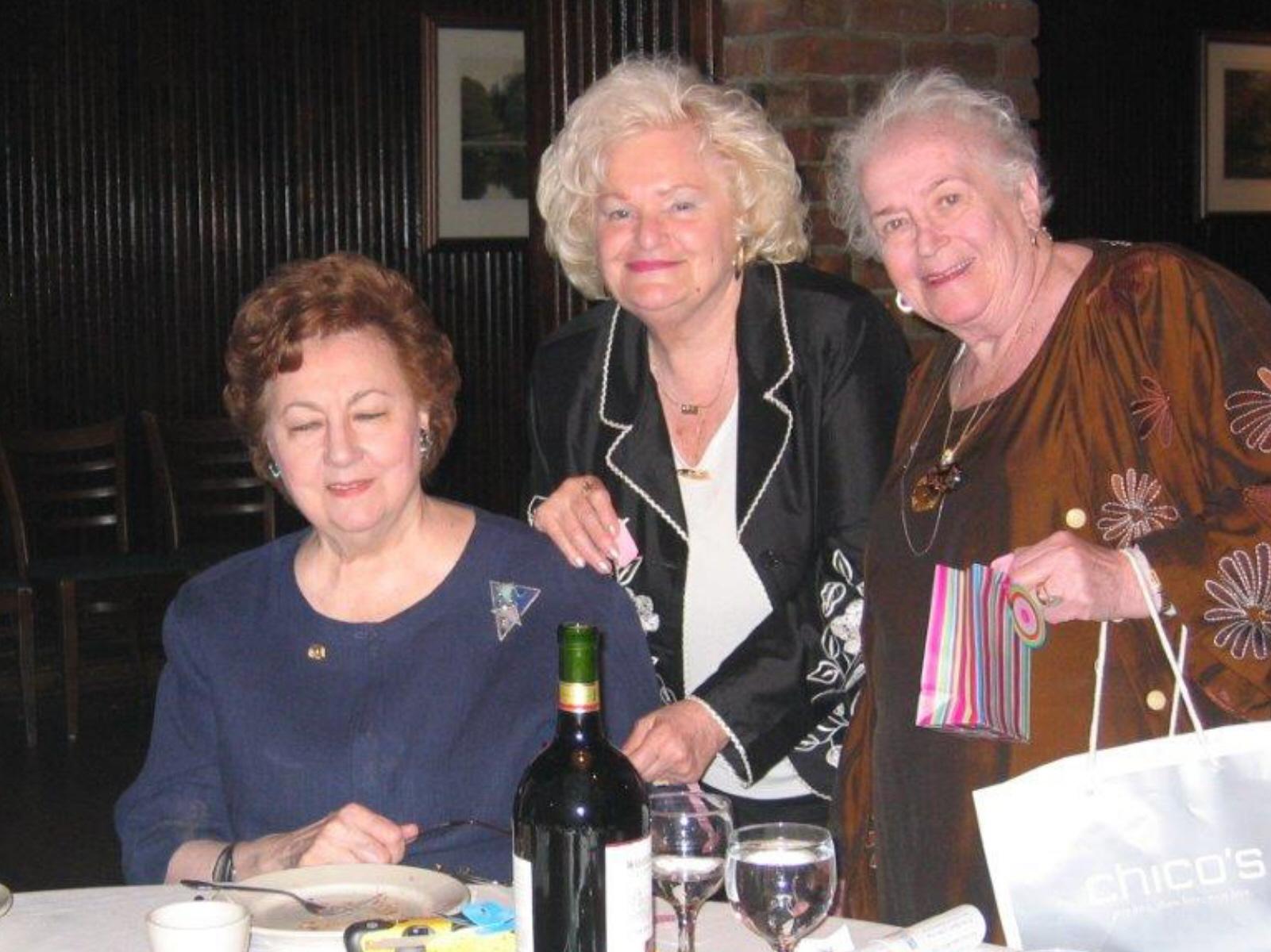 SIM 10th Anniversary June 2008 Leonia Sagasta, Jane LeMaster, Dee Carroll, Rena