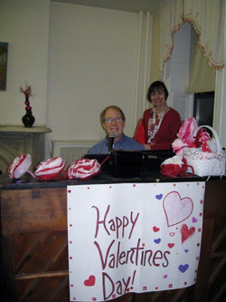 The Dwelling Place Valentine's Day Party  February 2011 Eileen Jackson, Entertai