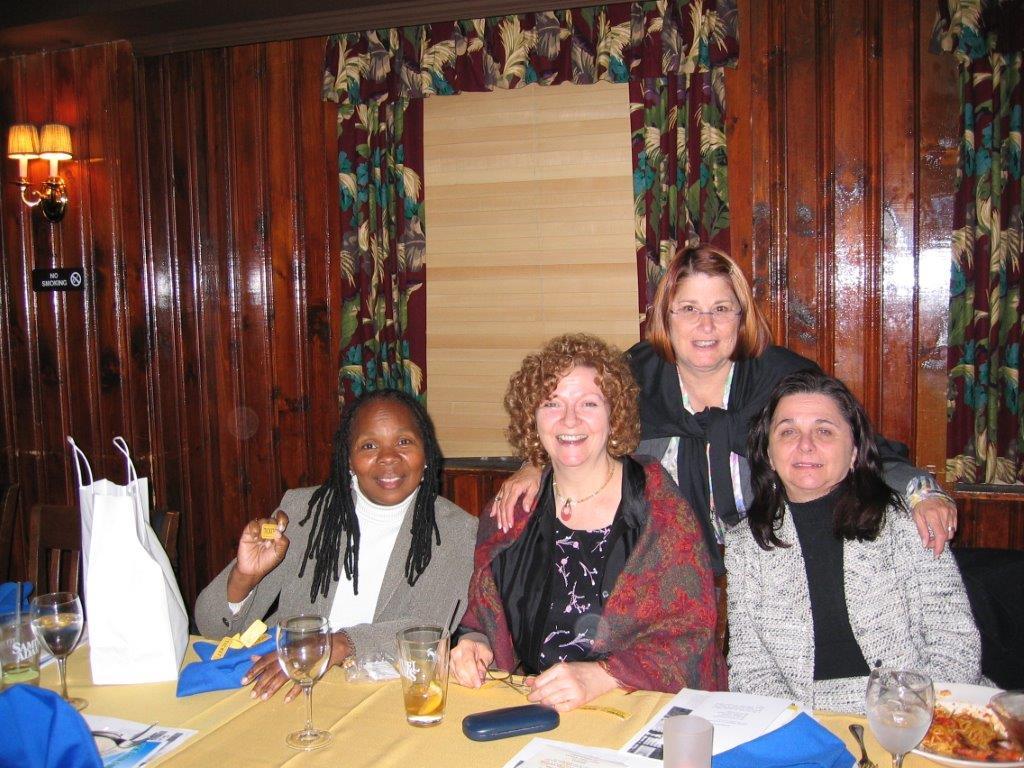 Domestic Violence Prevention Dinner Oct. 26, 2005 Ann Taylor, Barbara Costigan,