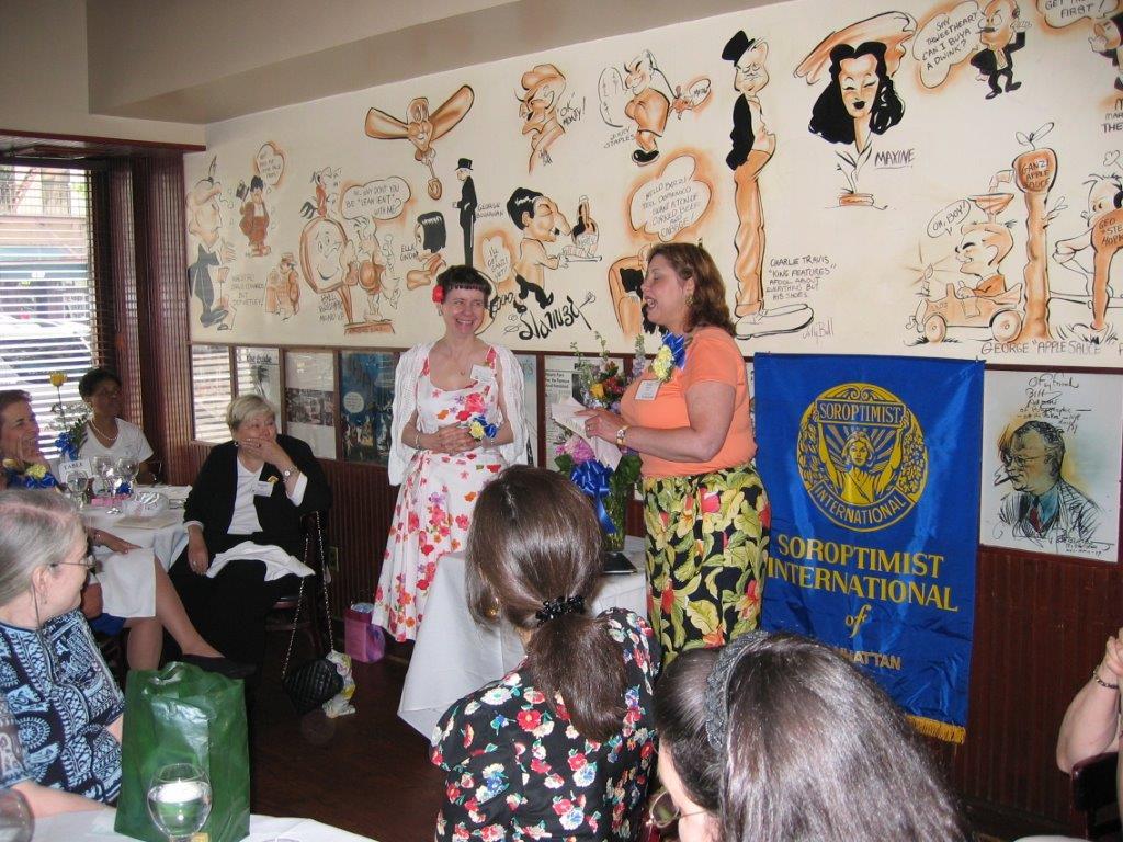 Community Service Awards Luncheon June 11, 2005  Eileen Jackson, Linda Dianto.jp
