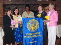 SIM 10th Anniversary June 2008 Toni Aiello, Charlynn Willis, Lenore Scurry, Jane