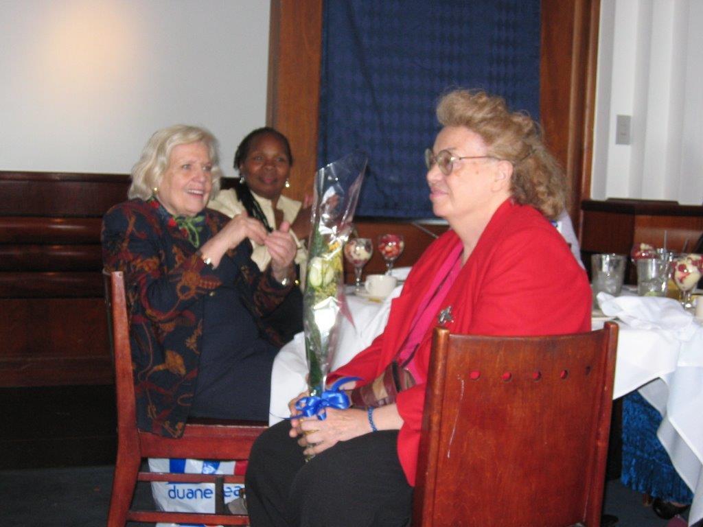 Community Service Awards Luncheon 6-10-06  XX, Ann Taylor, Sandy Gabin's mother.