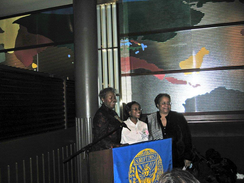 Women's Recognition Dinner at Colors March 13, 2006 Janet Pierro, VR winner and