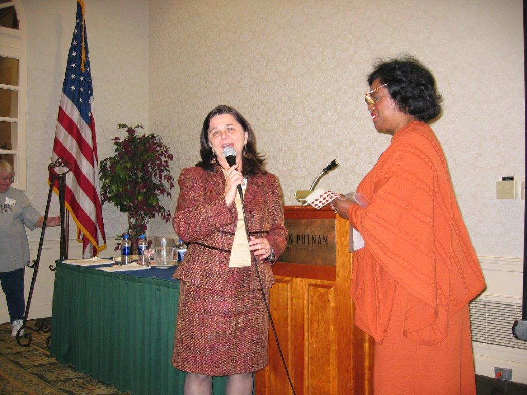 District Meeting Saratoga, NY     11-5-05 Charlynn Willis, Lenore Scurry.jpg