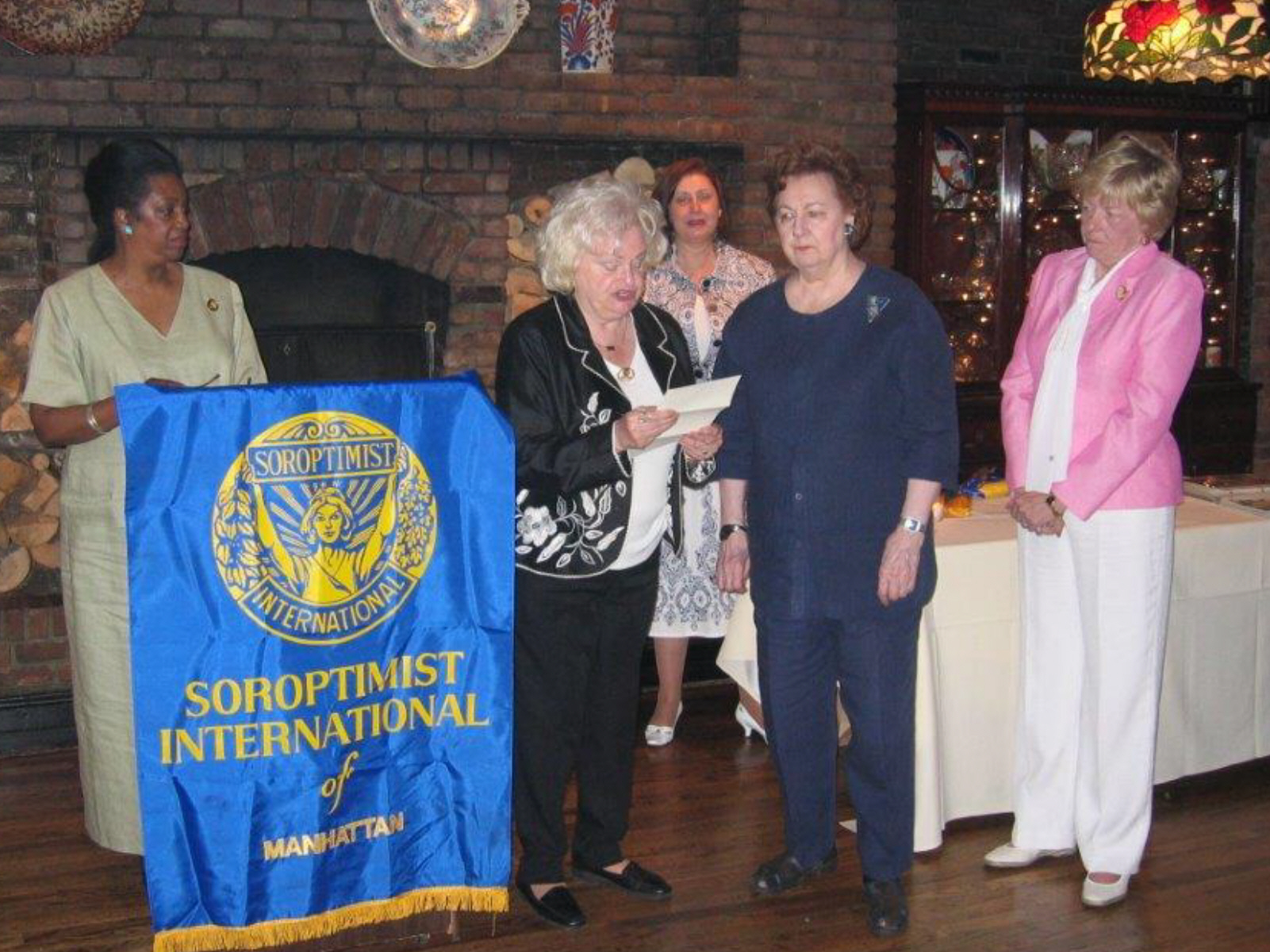 SIM 10th Anniversary June 2008 Lenore Scurry, Dee Carroll, Linda Dianto, Jane Le