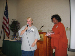 District Meeting Saratoga, NY     11-5-05 Joanne Stevenson, Lenore Scurry.jpg