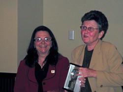 Community Service Awards     June 10, 2009      Charlynn Willis, Sr. Teresa.jpg