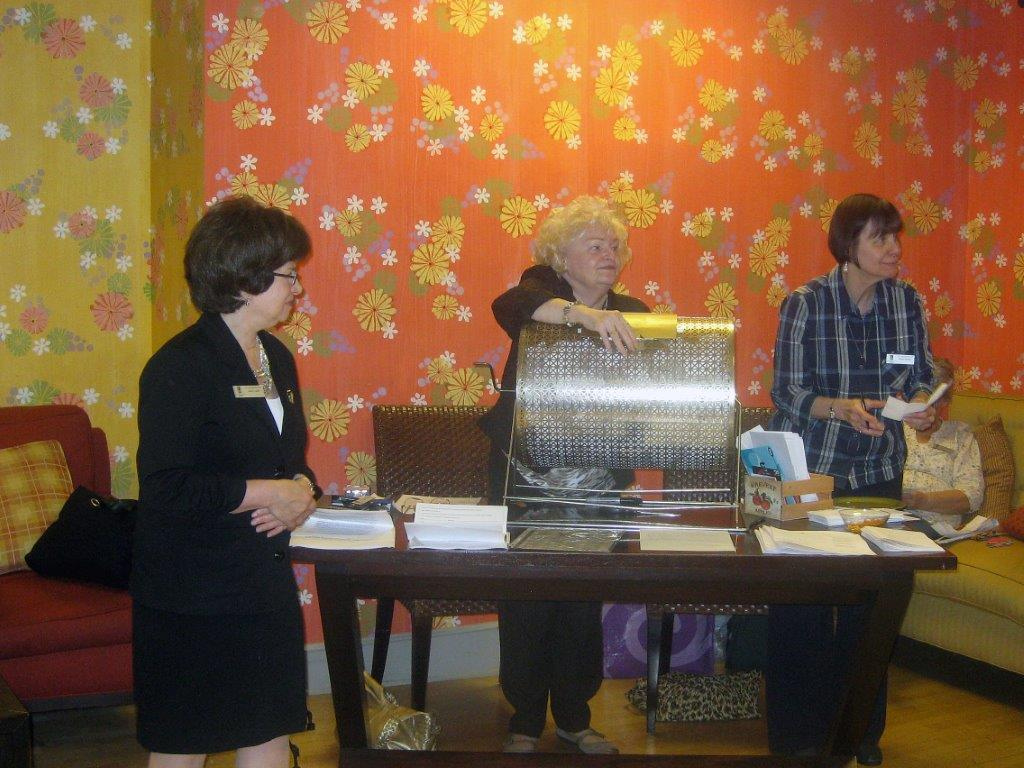 Raffle Night      Oct. 20, 2011 Toni Aiello, Dee Carroll, Eileen Jackson.jpg