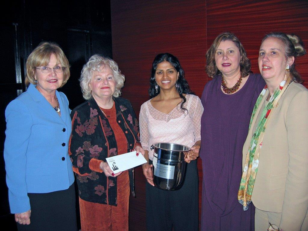 Women's Recognition Dinner at Colors March 13, 2006 Dot McNamara, Dee Carroll, L