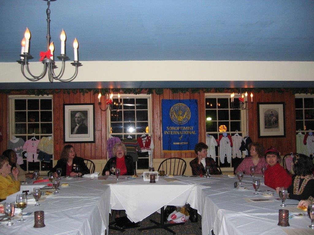 Holiday Party at Fraunces Tavern Dec. 14th, 2005 Mac, Ann Taylor, Linda Dianto,