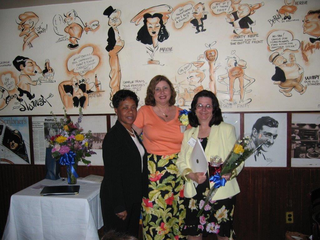 Community Service Awards Luncheon June 11, 2005 Wanda Price, Linda Dianto, Charl