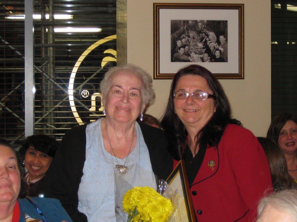 Community Service Awards     June 10, 2009      Rena Pincus, Charlynn Willis (2)