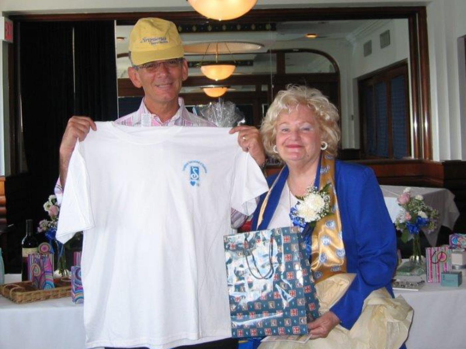 Community Service Awards Luncheon 6-10-06 Marty Barrett, Dee Carroll.jpg