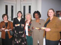 Pre District 1 Meeting Event  10-24-08      Toni Aiello, Eileen Jackson, Dee Car