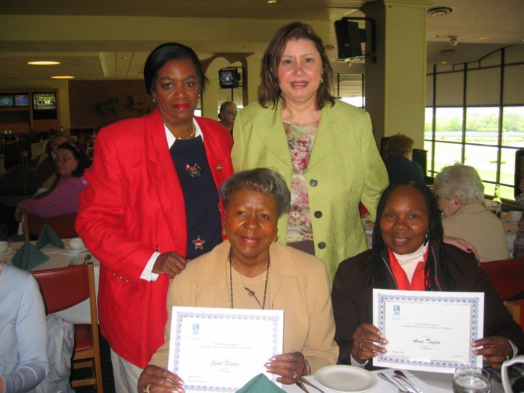 Race Track        Fundraiser        May 2007 Lenore Scurry, Linda Dianto, Janet