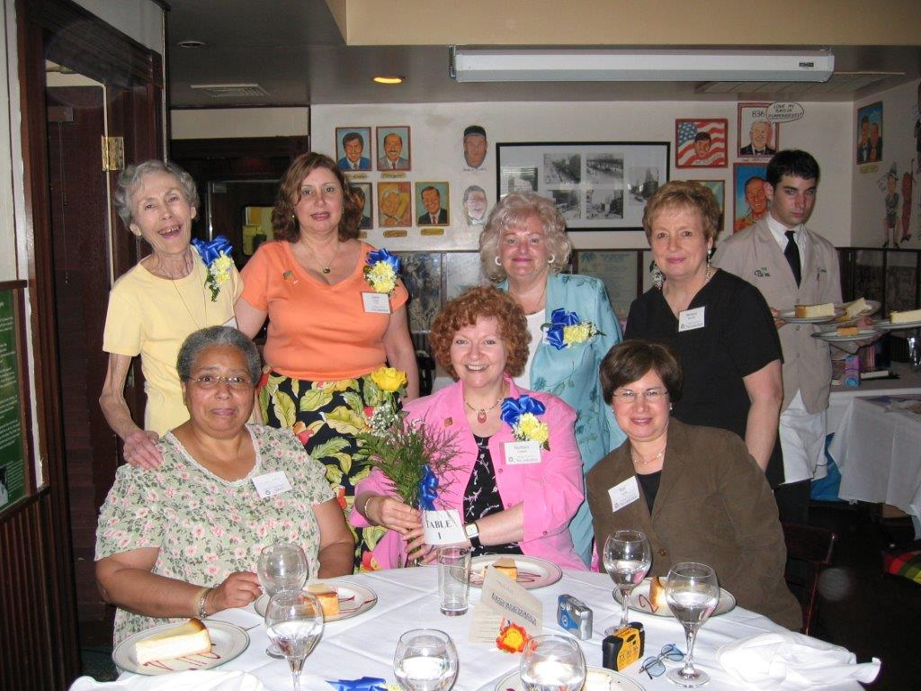 Community Service Awards Luncheon June 11, 2005 Treva Owre, Linda Dianto, Dee Ca