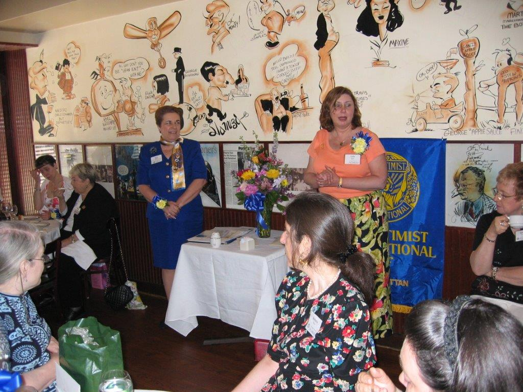 Community Service Awards Luncheon June 11, 2005 Marie Kennedy, Linda Dianto.jpg