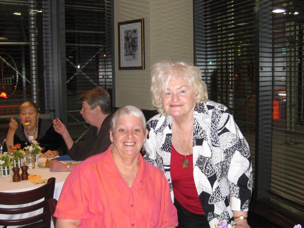 Community Service Awards     June 10, 2009      Joanne Stevenson, Dee Carroll.jp