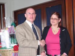 Community Service Awards Luncheon 6-10-06  Dr. Grant Brenner - award recipient,