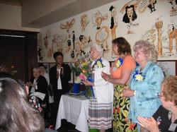 Community Service Awards Luncheon June 11, 2005 Margaret, Eileen, Wanda, Leonia,
