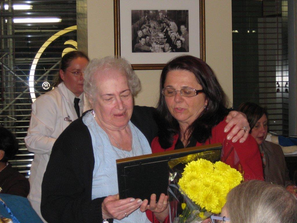 Community Service Awards     June 10, 2009      Rena Pincus, Charlynn Willis.jpg
