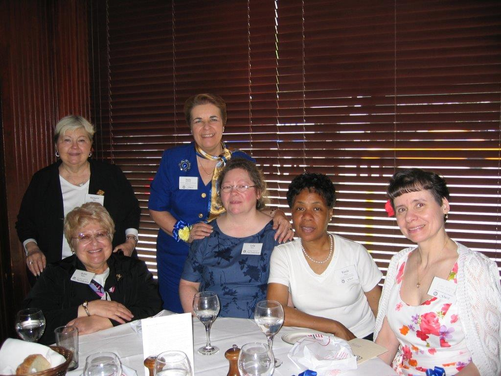 Community Service Awards Luncheon June 11, 2005 Margaret Hart, Marie Kennedy, Bo