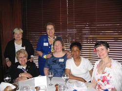 Community Service Awards Luncheon June 11, 2005 Margaret Hart, Marie Kennedy, Bo