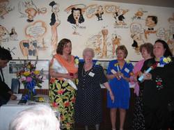 Community Service Awards Luncheon June 11, 2005 Wanda, Linda, Rena, Dot, Barbara
