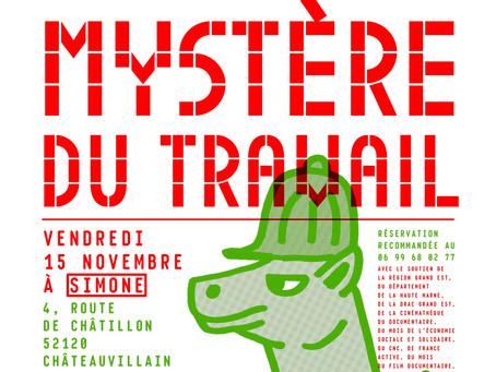 """Soirée """"Le Grand Mystère du Travail"""" #1 - projection du film """" demain l'usine"""""""