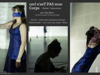 Stage de danse - Olga Mesa - 4 et 5 mai