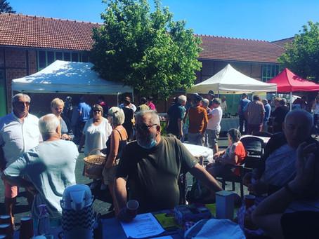 marché de producteurs locaux - 9 août