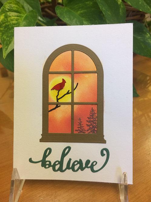 Cardinal Believes Card