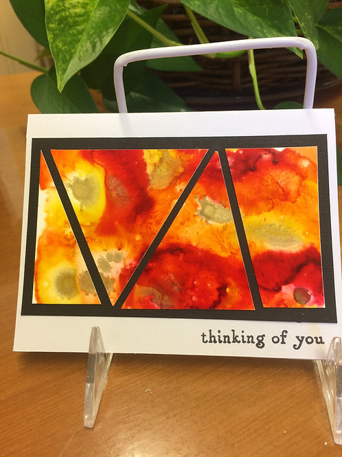 Thinking of You Geometric Card