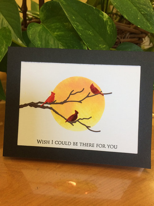 Cardinals on a Branch Card