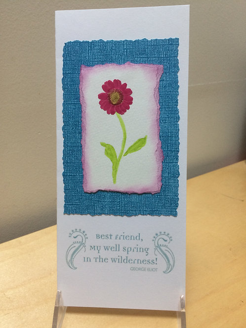 Friendship Daisy Card
