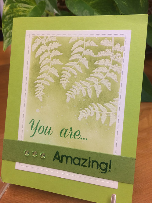 Amazing Ferns Card