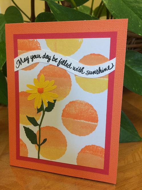 Daffodil Inspirational Card