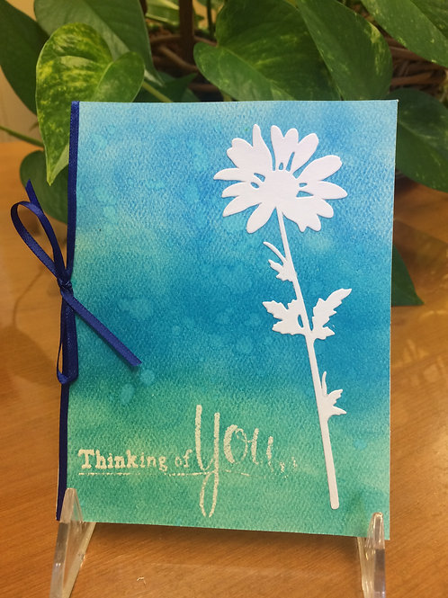 Wildflower Thoughts Card