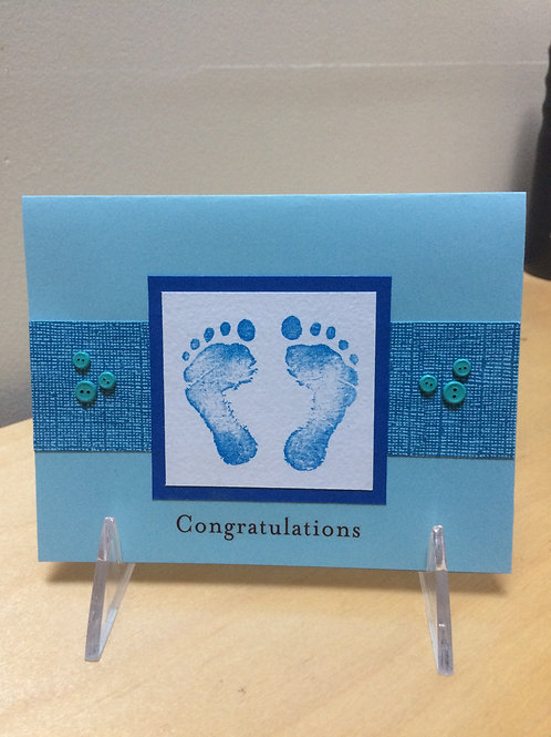 New Baby Congratulations Card