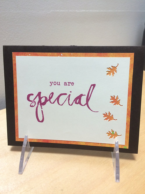You are Special Leaves Card