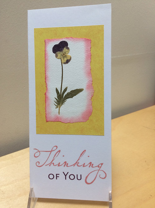 Thinking of You Viola Card