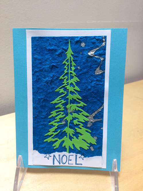 Christmas Tree Noel Card