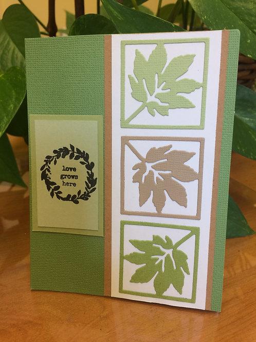 Leaves & Love Card