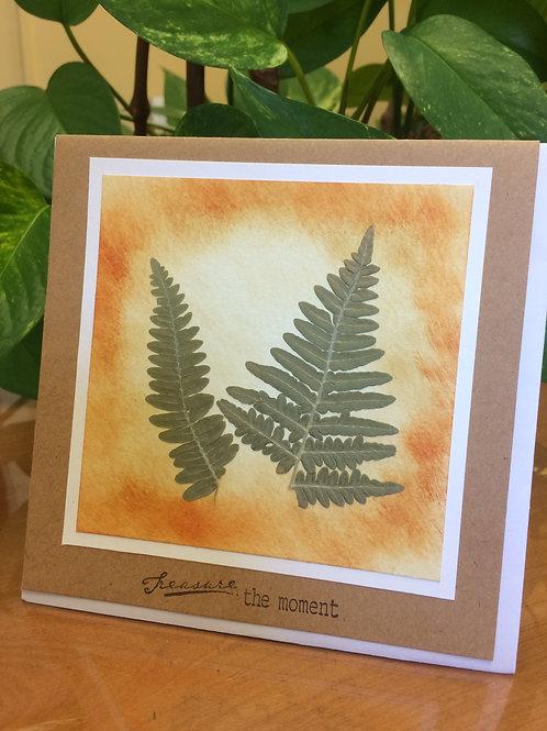 Treasure the Ferns Card
